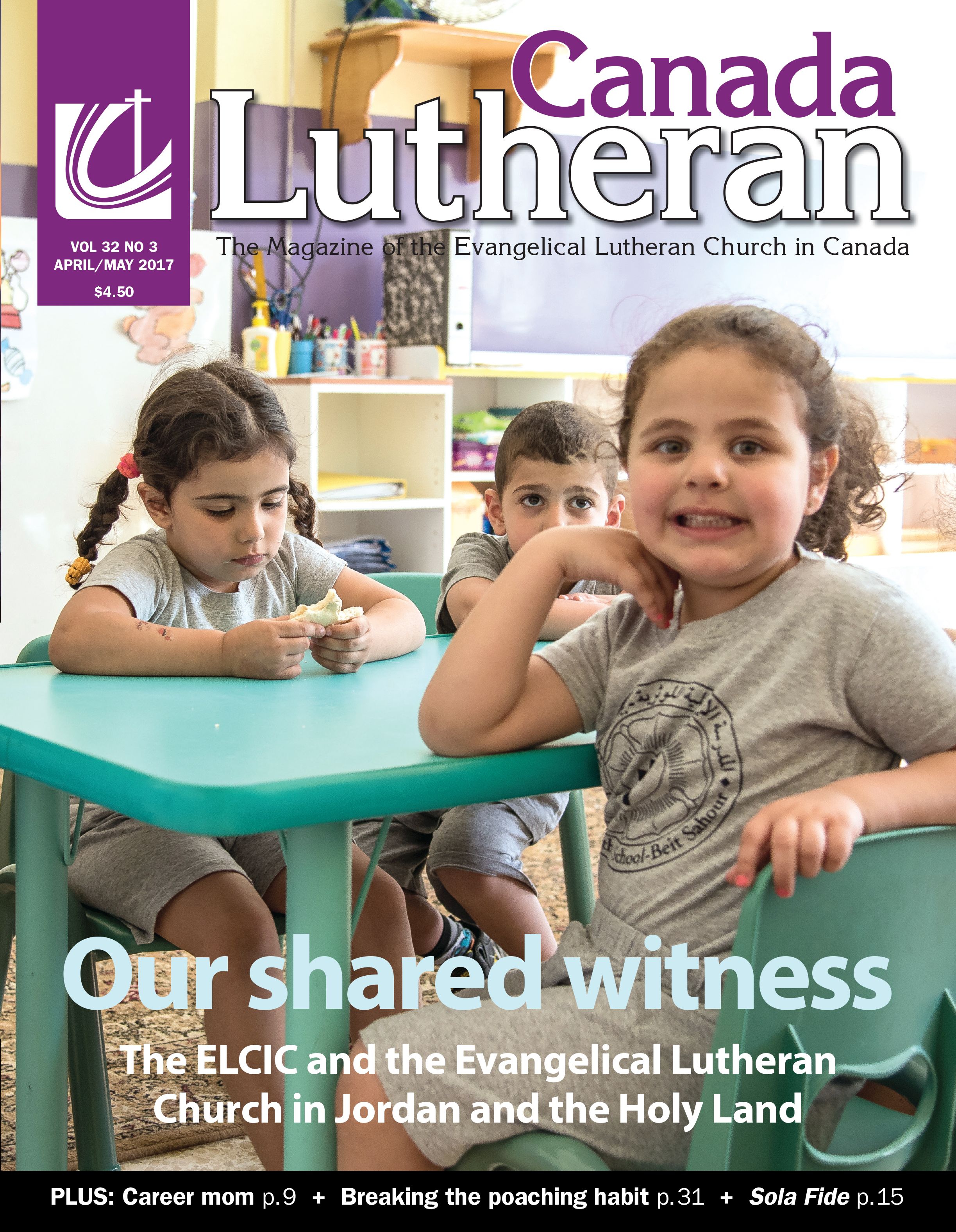 Our Shared Witness - Canada Lutheran Magazine - ELCIC