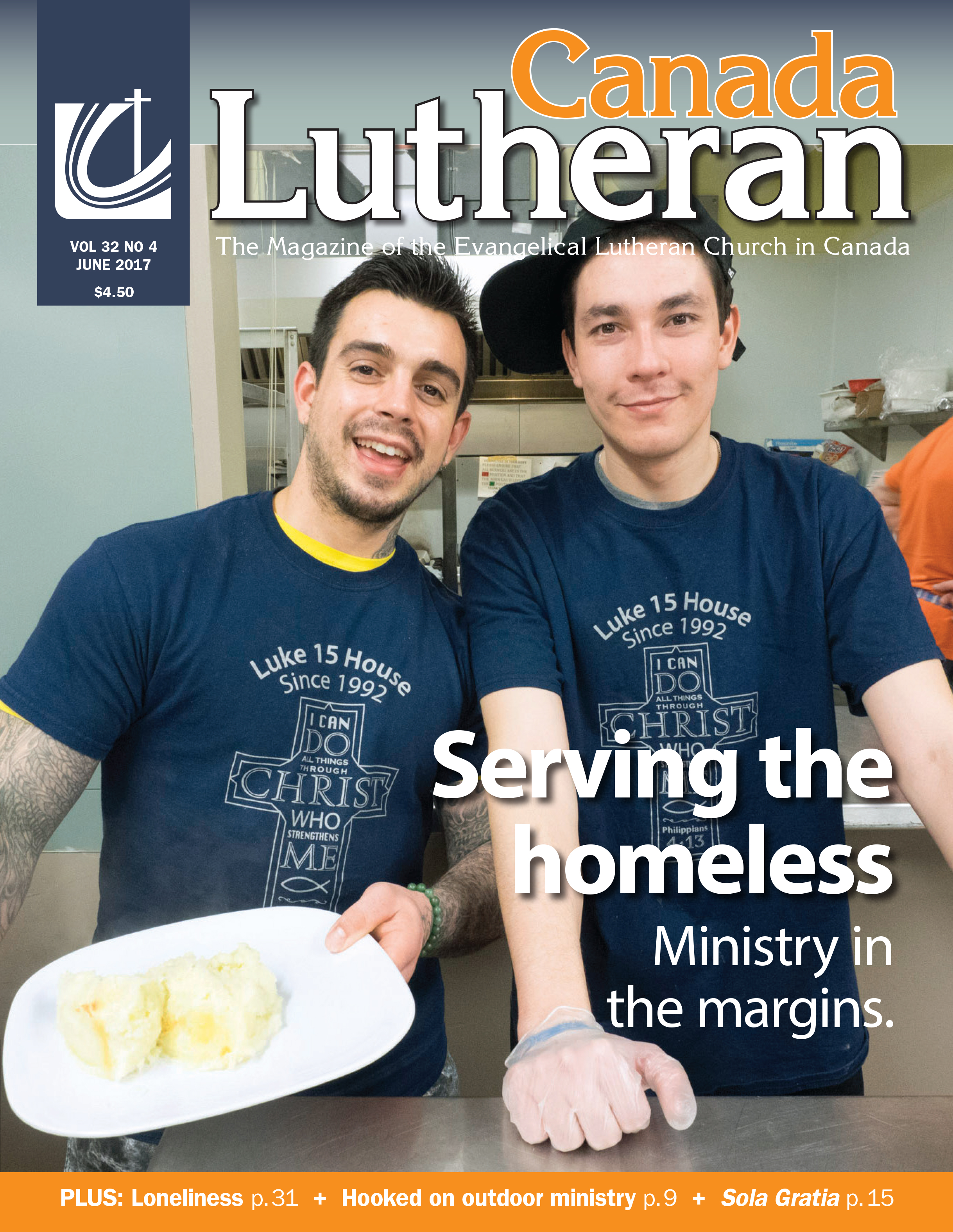 Ministry in the Margins - Canada Lutheran Magazine - ELCIC