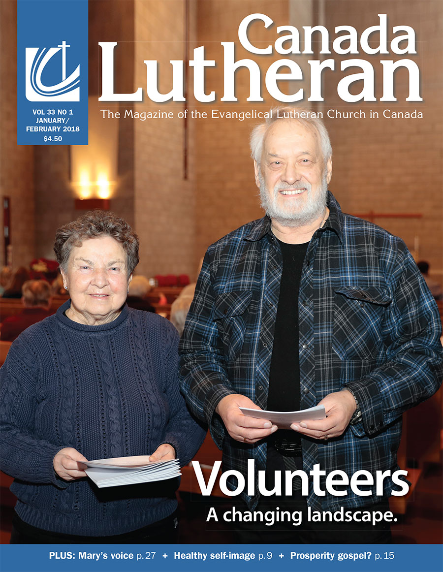 January – February 2018 - Canada Lutheran Magazine - ELCIC