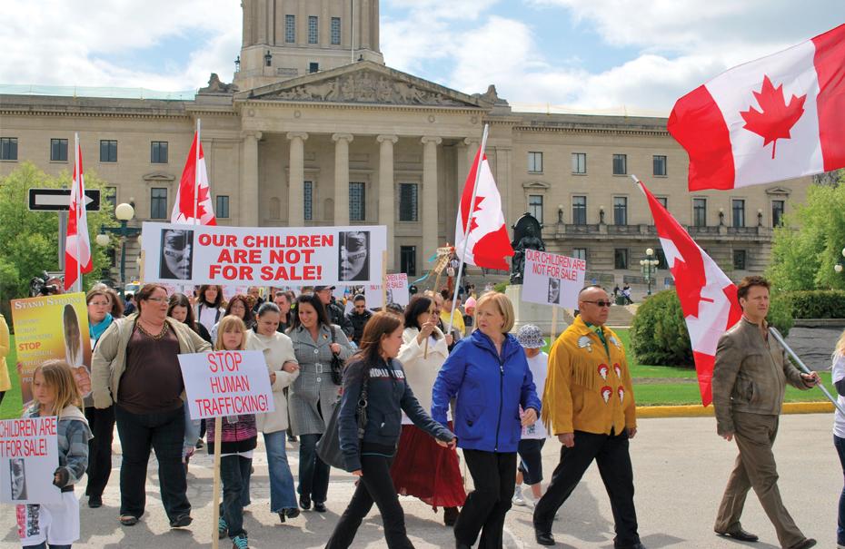 Challenging Human Trafficking - Canada Lutheran Magazine - ELCIC