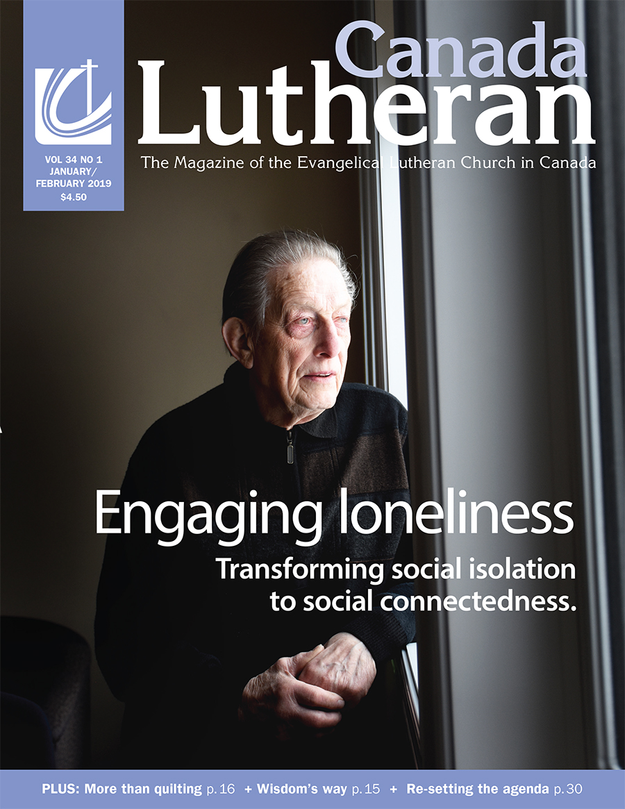 All the Lonely People - Canada Lutheran Magazine - ELCIC