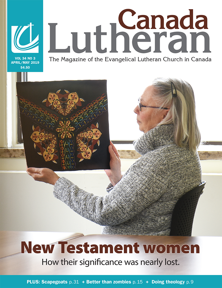 April – May 2019 - Canada Lutheran Magazine - ELCIC