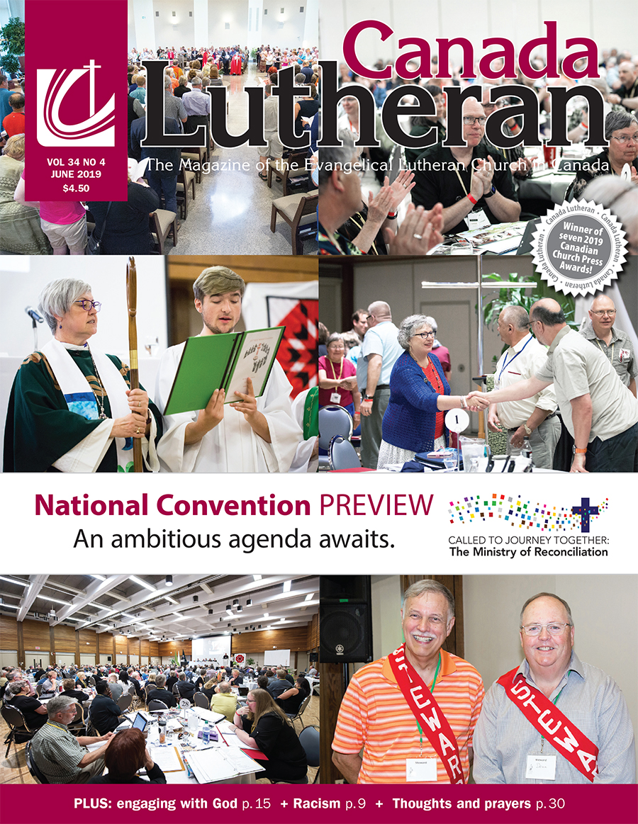 National Convention Preview - Canada Lutheran Magazine - ELCIC
