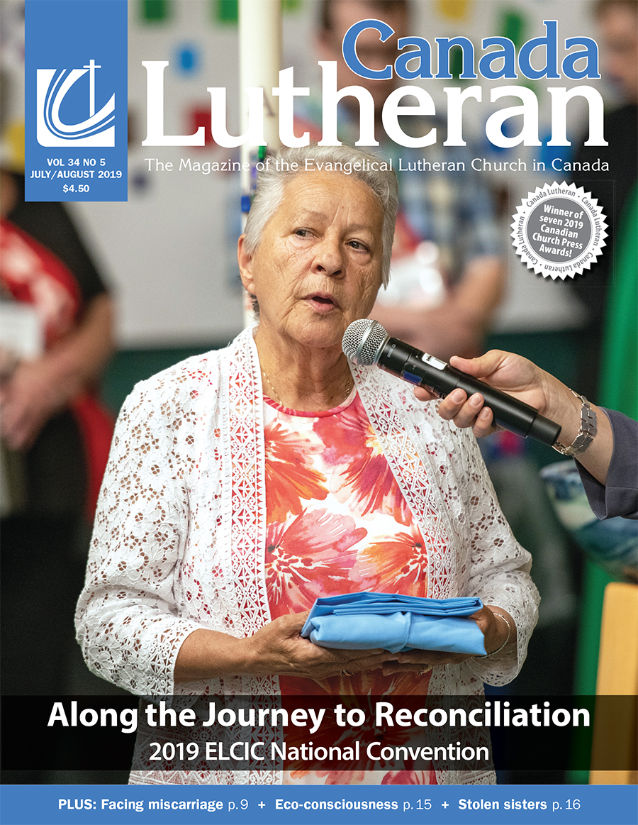 July – August 2019 - Canada Lutheran Magazine - ELCIC