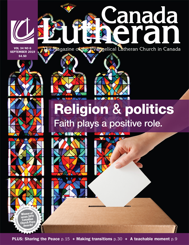 September – 2019 - Canada Lutheran Magazine - ELCIC