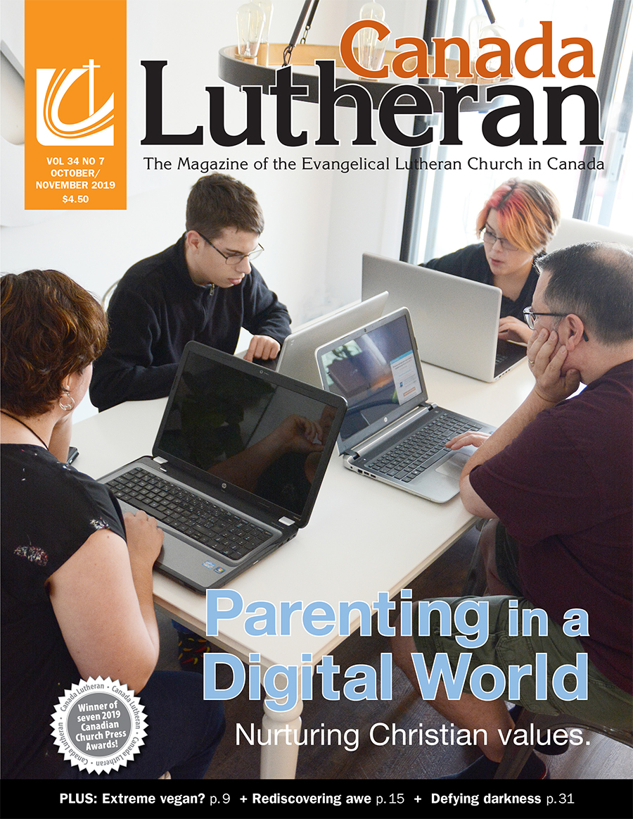 October – November 2019 - Canada Lutheran Magazine - ELCIC