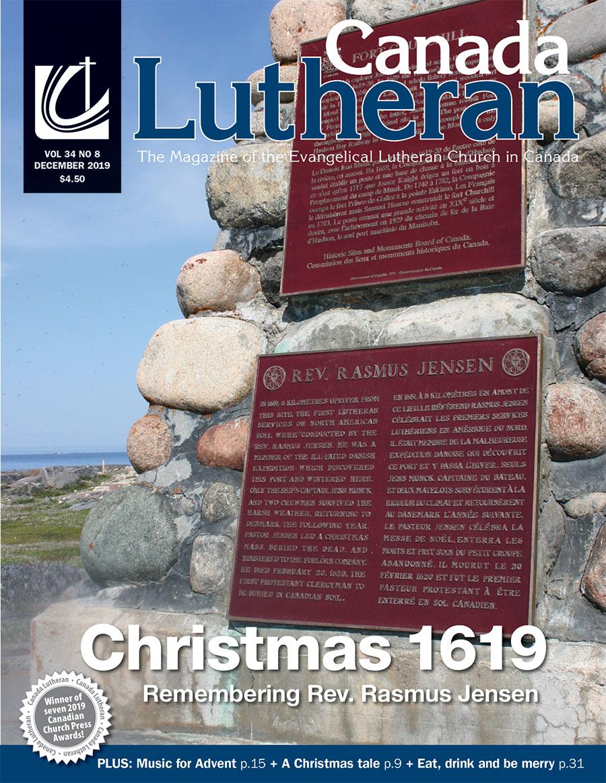 December – 2019 - Canada Lutheran Magazine - ELCIC