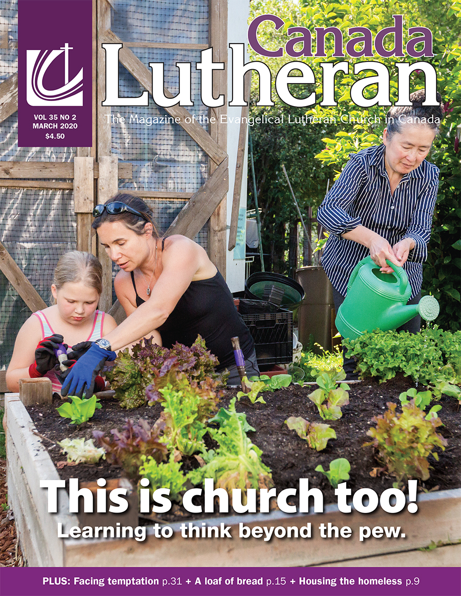 March – 2020 - Canada Lutheran Magazine - ELCIC