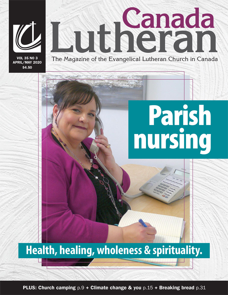 April – May 2020 - Canada Lutheran Magazine - ELCIC