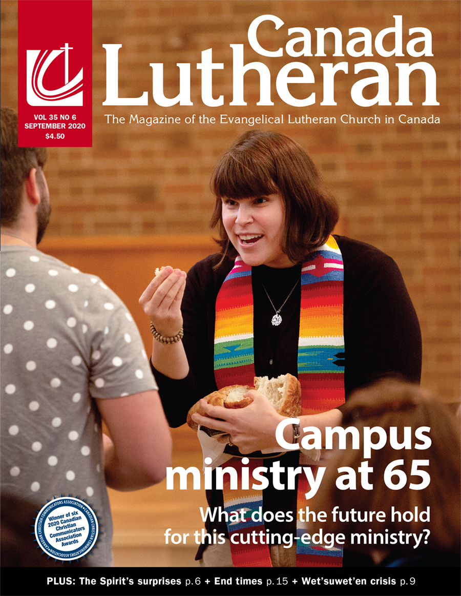 Campus Ministry at 65 - Canada Lutheran Magazine - ELCIC