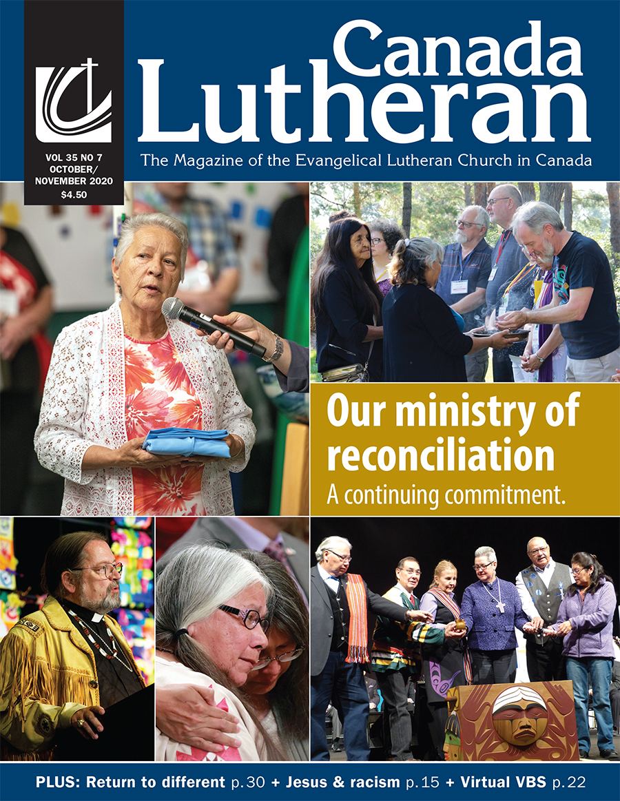 Our Ministry of Reconciliation - Canada Lutheran Magazine - ELCIC