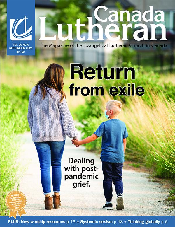 September – 2021 - Canada Lutheran Magazine - ELCIC